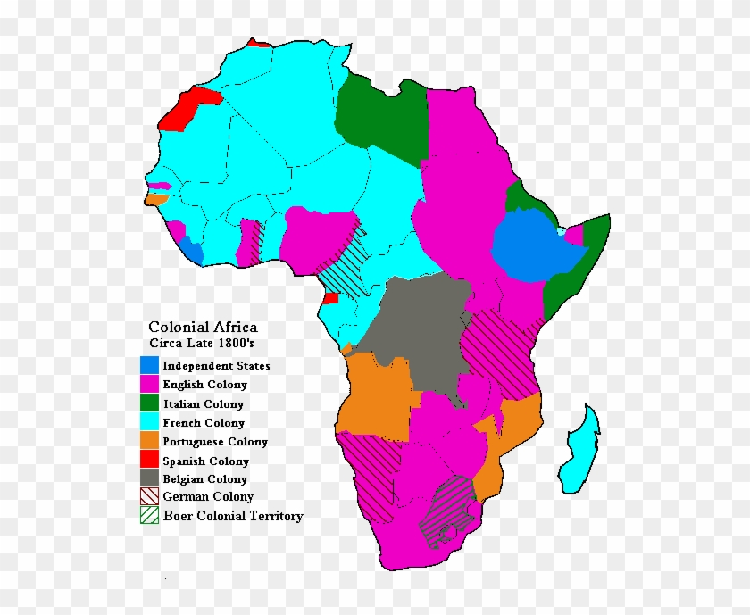 map of africa after berlin conference Map Of Colonial Africa Berlin Conference Africa Map Free map of africa after berlin conference