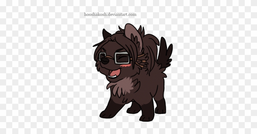Cool Attack On Titan Wallpaper Levi Chibi Wolf Hanji Cute Chibi Wolf Gif Free Transparent Png Clipart Images Download