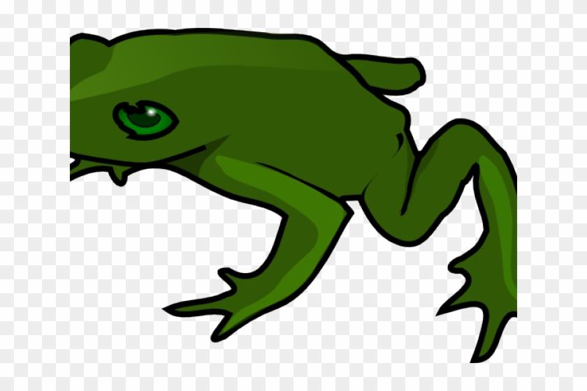 Green Frog Clipart Pet Frog - Clip Art Animals Frog #1156910