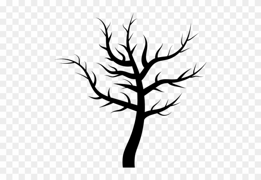 Barren Tree - Spooky Tree Silhouette Png #1157631