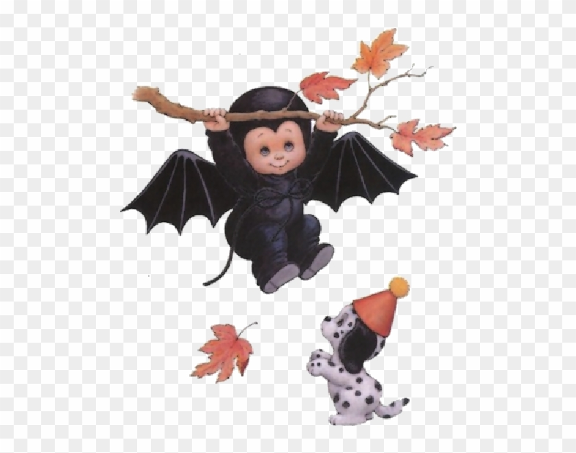 Cute Halloween Baby Witches Cartoon Clip Art Images - Ruth Morehead #1158135
