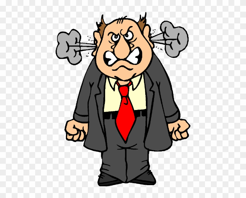 Anger Angry Person Cartoon Free Transparent Png Clipart Images Download