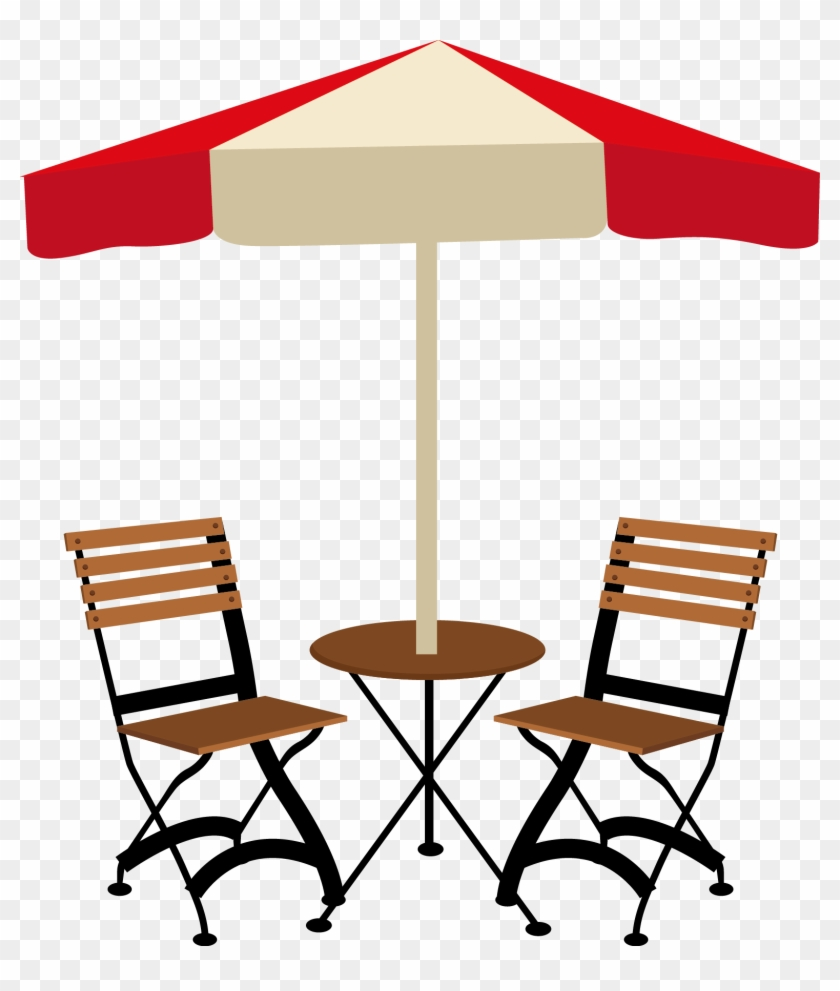 Table Cafe Chair Vector Cafe Table And Chairs Png Free