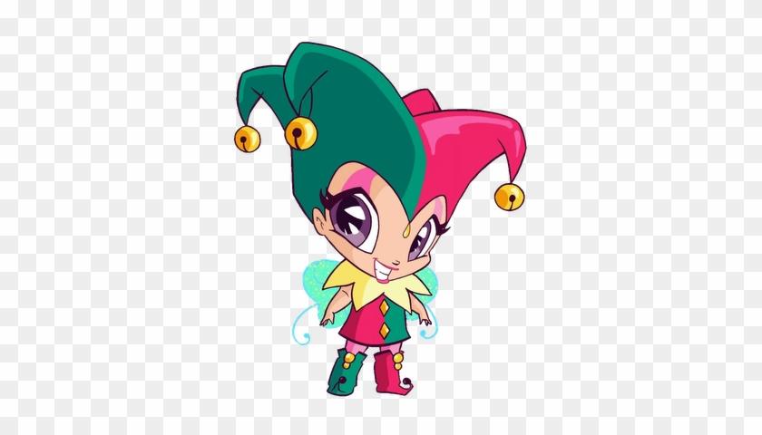 Joy, Pixie Of Clowns And Pixie Francis By Asuna973 - Winx Club Roxy Pixie #1159065