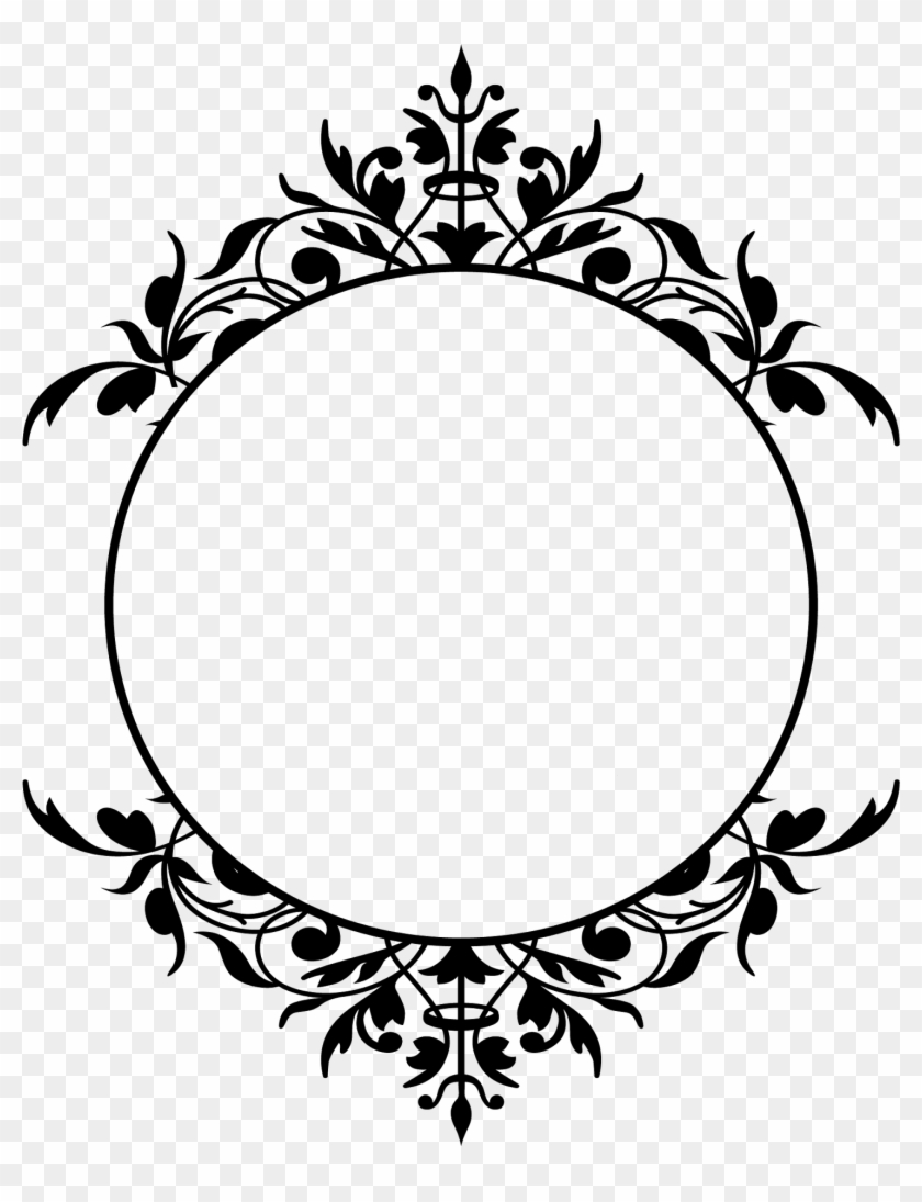 Borders And Frames Graphic Frames Picture Frames Clip - Khmer Flower ...
