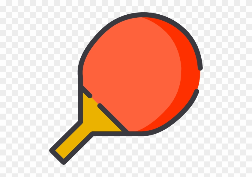 Free Icons Png - Ping Pong Paddle Clipart #1159811