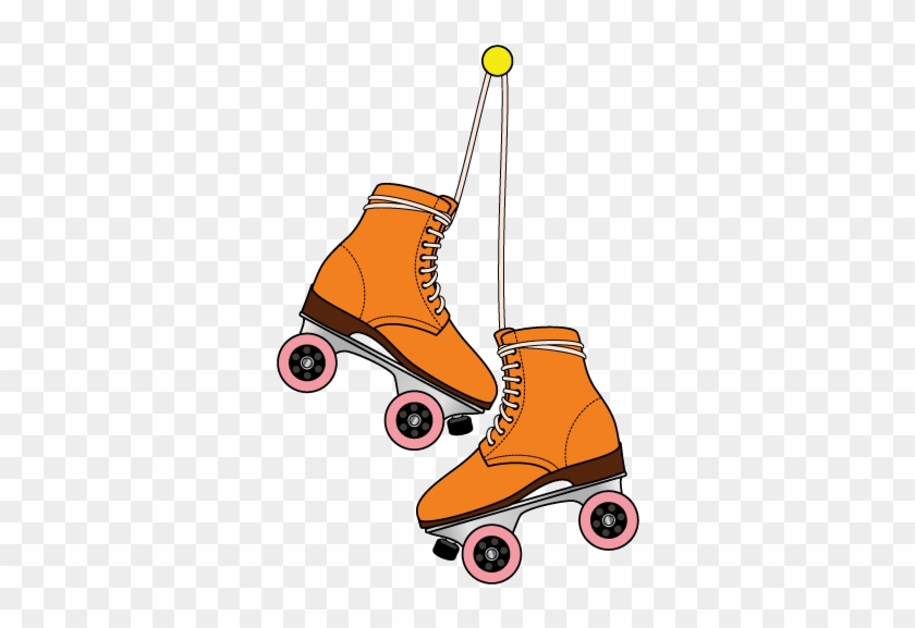 Shoe Roller Skates Ice Skating Roller Skating Cartoon Roller