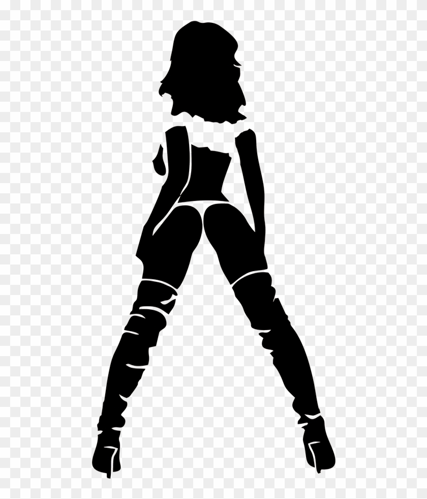 Hot sexy girl woman pinup funny car bumper window vinyl hot woman silhouette png