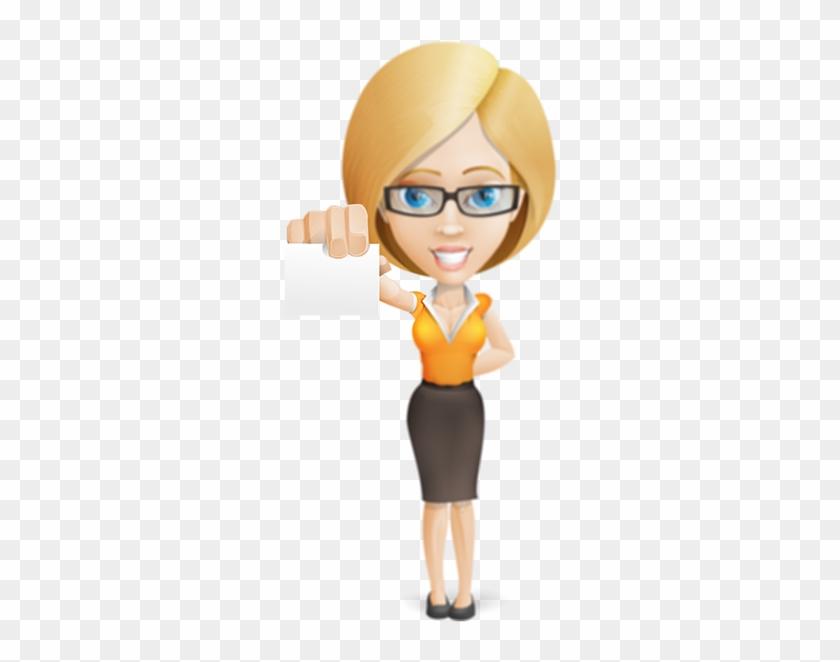 Businesswoman 66 Login Crop U821 Lunatots - Businessperson #1160767