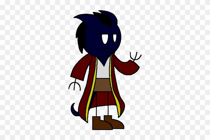 Cinaed Dreamtongue Cg, Male Tiefling Sorcerer - Cartoon