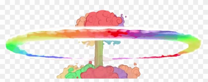 Sonic Rain Nuke By Demao - Rainbow Nuke - Free Transparent