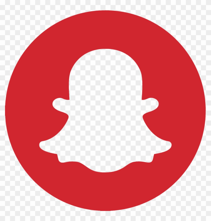 Snapchat Red Instagram Snapchat Logo Png Black And White Free Transparent Png Clipart Images Download