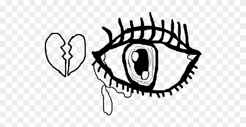 Sad Eye Coloring Page - Desenhos Para Colorir Triste #1162645