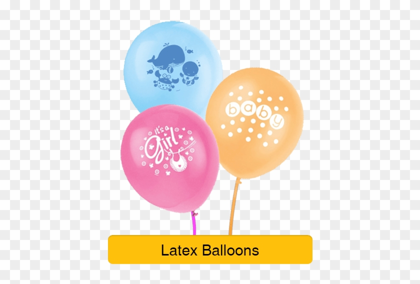 "Baby Shower Decorations - 12"" Latex Under The Sea Balloons, Pack #1162674"