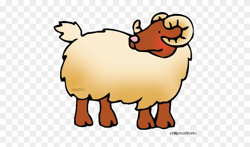 Ram Clip Art Free Clipart Images - Sheep Chinese Zodiac Personality #1162786