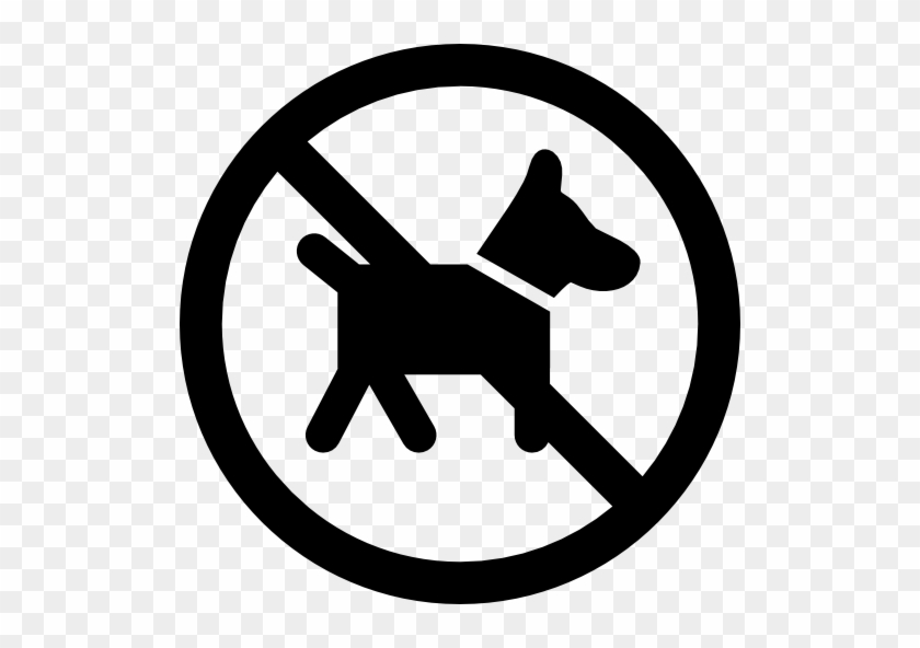 No Pets Free Icon - Google Map Current Location Icon #1163773