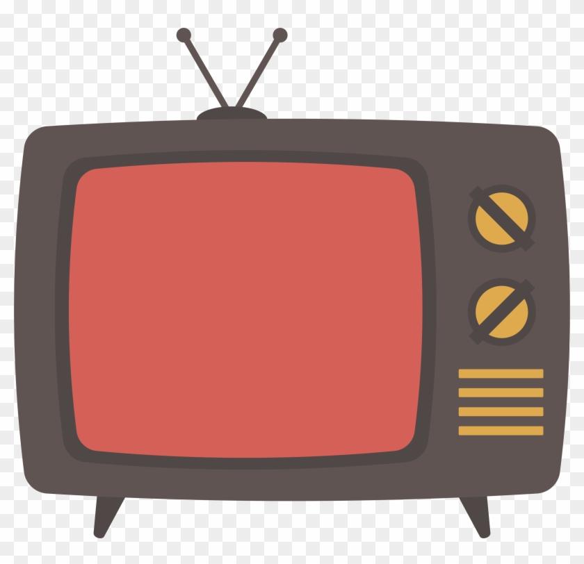 Television Set Download - Tv Cartoon Png #1163805