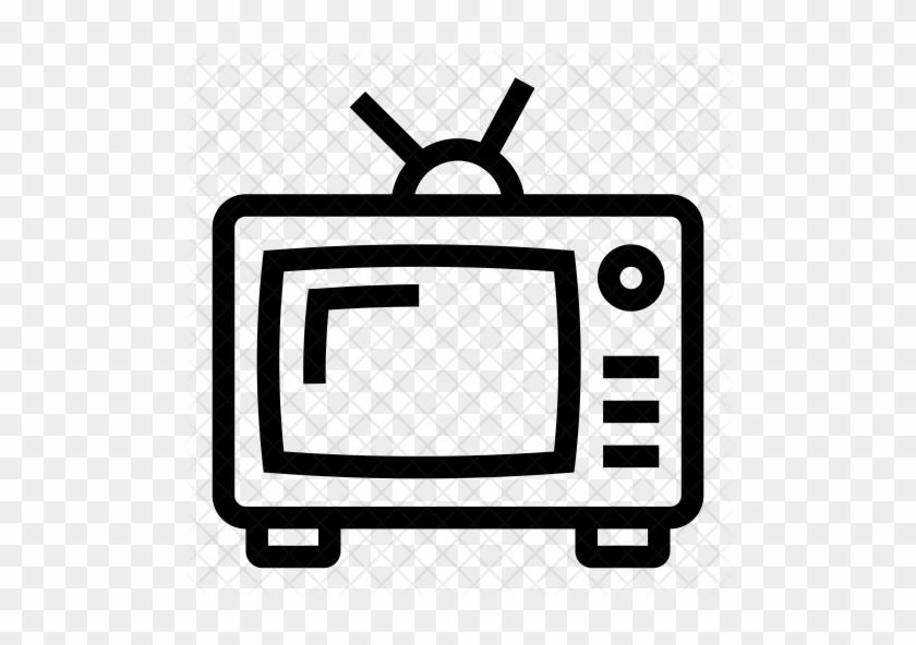 Tv Icon - Television #1163809