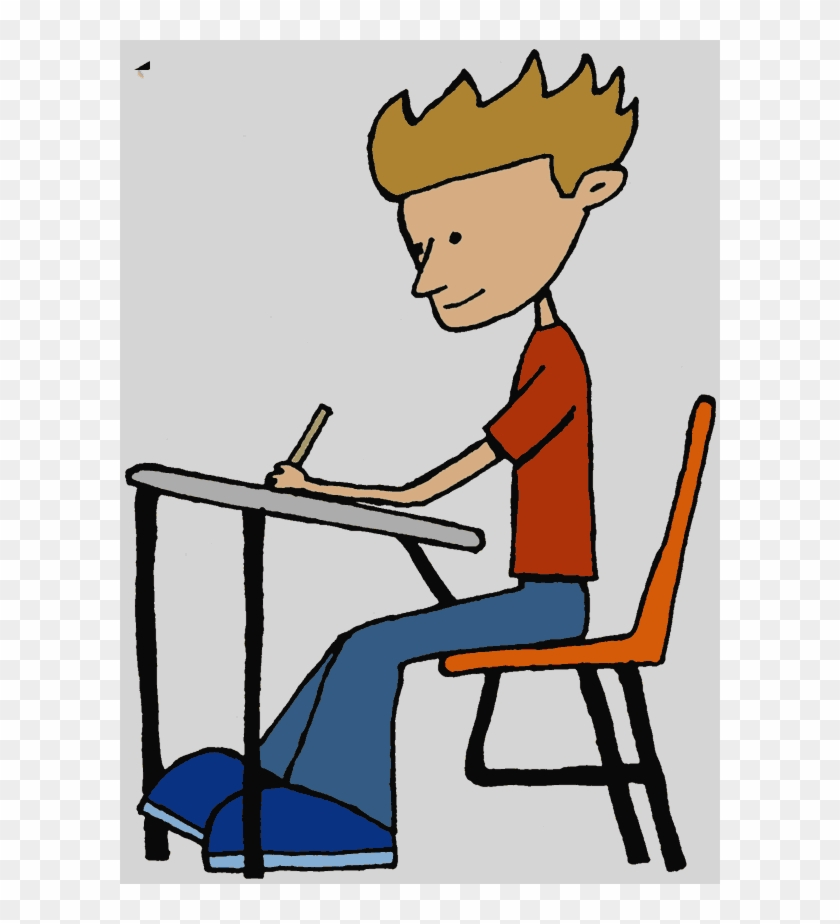 College Student Studying Clipart Good Pupil Clip Art - Student Clip Art #1164017