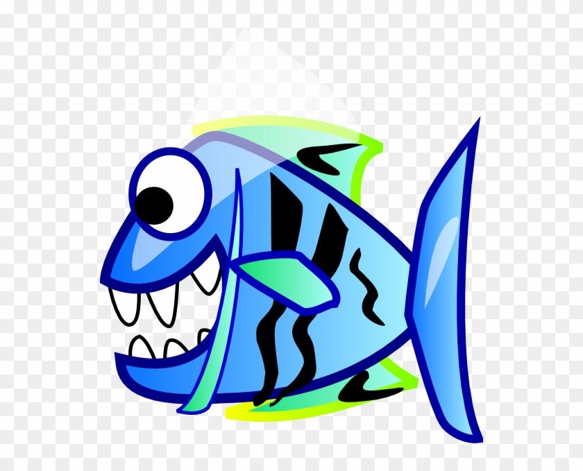 Fish Svg Clip Arts 552 X 599 Px - Piranha #1164058