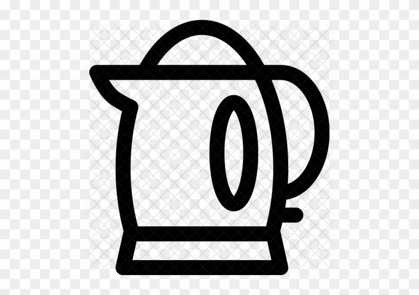 Electric, Kettle, Tea, Coffee, Maker, Drink Icon - Tea Coffee Maker Png #1164215
