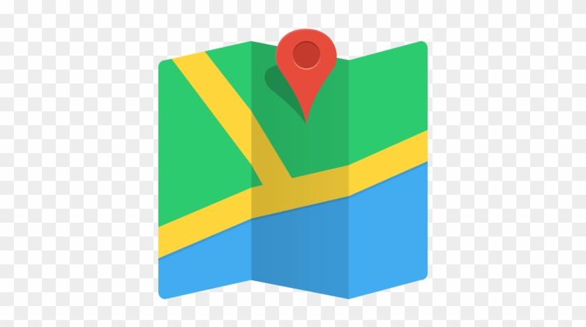 Google Maps Locate Location Clipart Panda Free Clipart - Google Maps Icon Flat #1164373