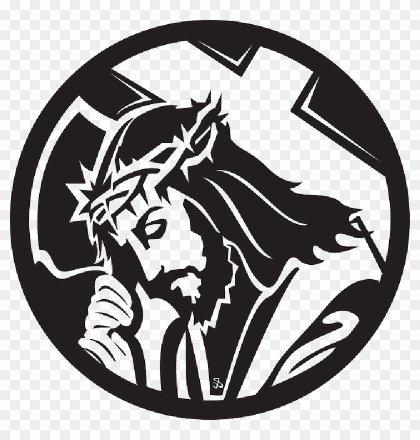 Cross Christian Religion Crown Christ Jesus Faith Jesus