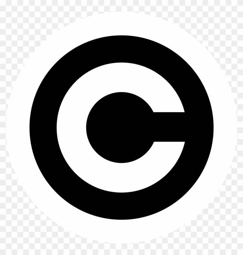 Copyright Symbol - Copyright Symbol Png #1165477