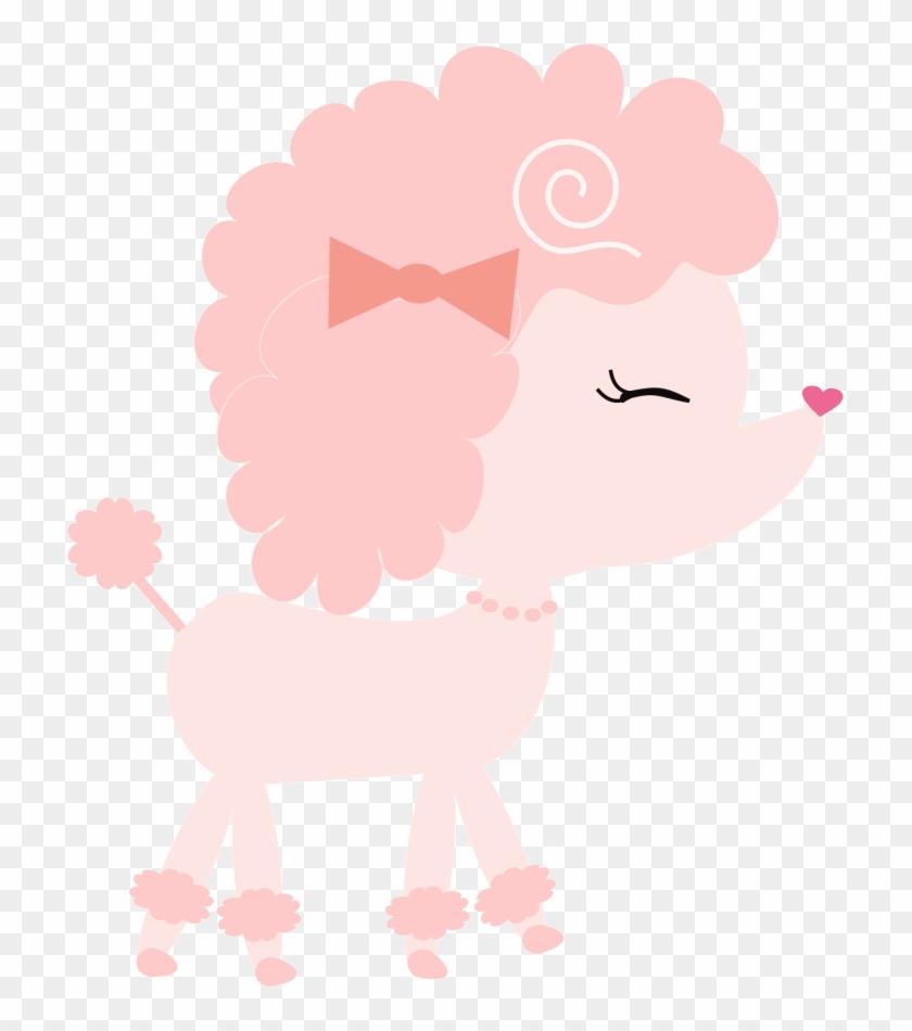 Tres Chic Paris Baby Clipart - Poodle Rosa Png - Free Transparent ...