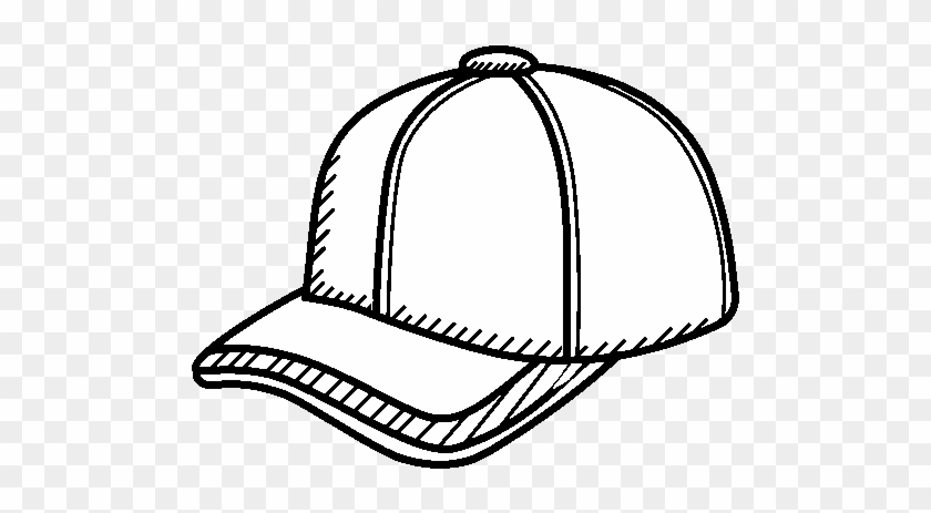 Sport Cap Coloring Page Coloringcrew Com Intended For Cap For
