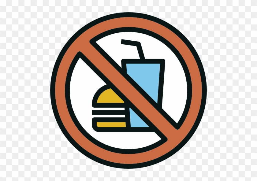 No Fast Food Free Icon - No Food Icon Png #1167907