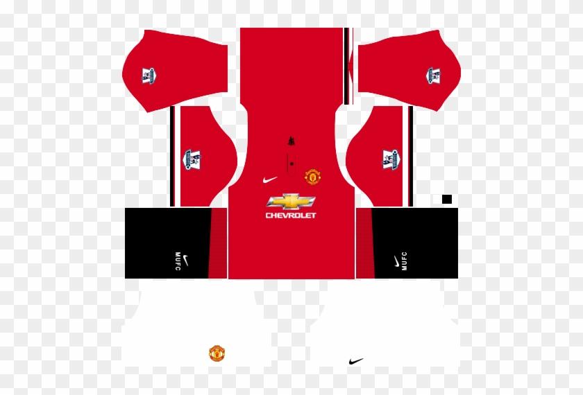 Logo Man U Dream League Soccer 2016 Alternative Clipart - Kit Dream League Soccer 2018 Mu #1168075