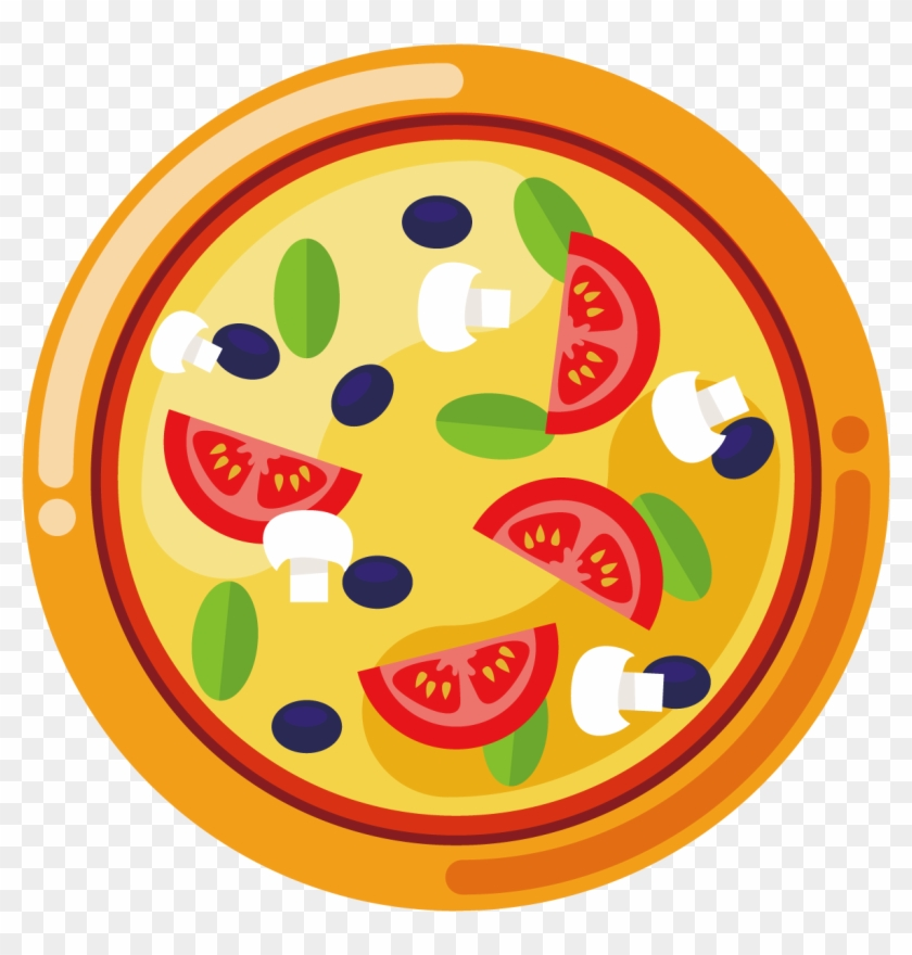 Pizza Delivery Italian Cuisine - Food Truck Cartoon Png #1169917