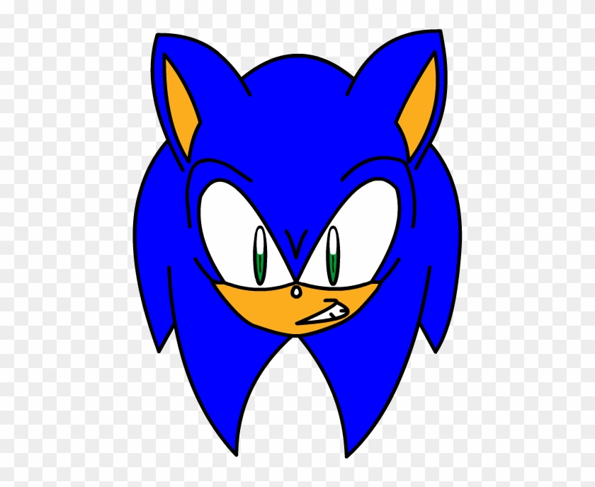 Sonic The Hedgehog Head By Dark Amy Rose Cartoon Free Transparent Png Clipart Images Download