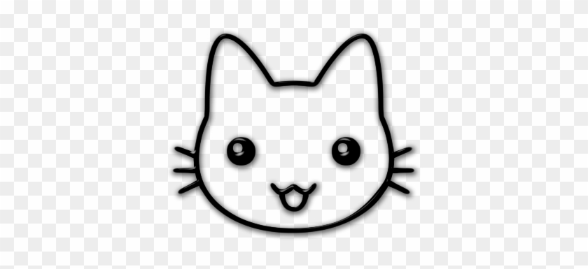 Cartoon Cat Face Cute Cartoon Cat Face Free Transparent Png