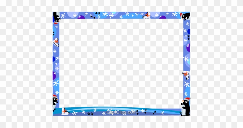 Frame Clipart Winter Winter Borders And Frames Free Transparent