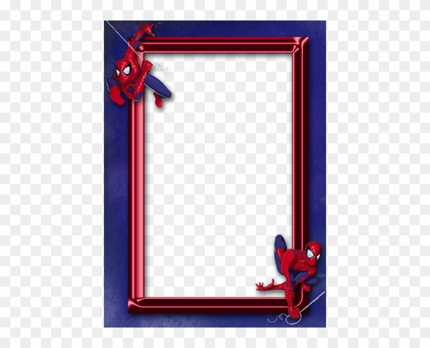Spider-man Clipart Border - Spiderman Frame - Free Transparent PNG ...