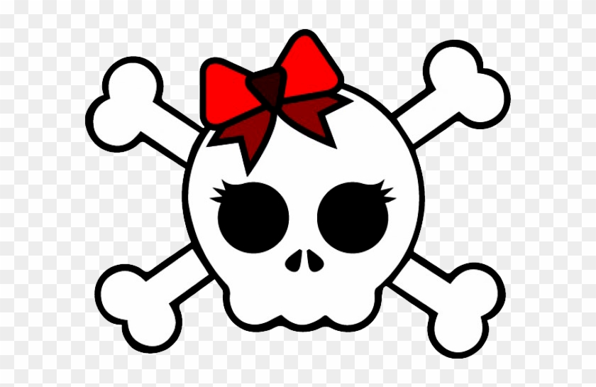 Girl Skull And Cross Bones-7815