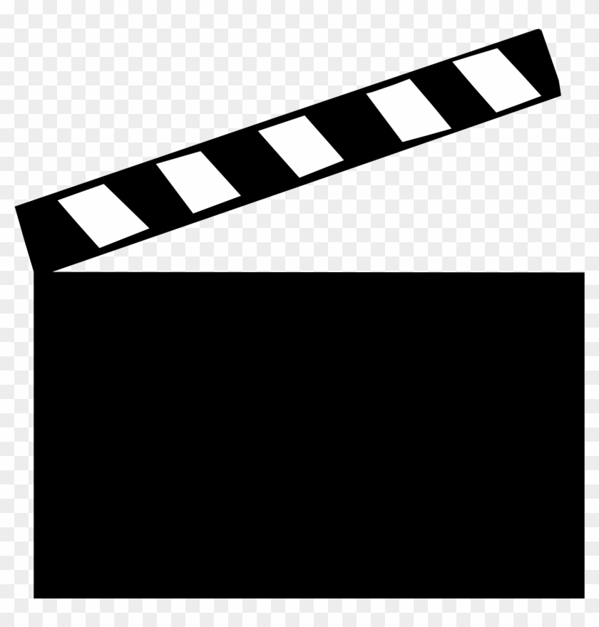 Clapper Board Refixed - Movie Clapper Clip Art #1172399