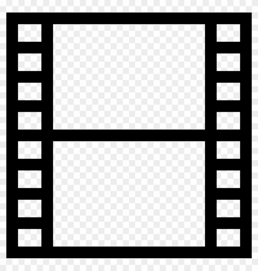 A Cut Of A Film Reel, The Universal Icon For Movie - Movie Icon #1172414