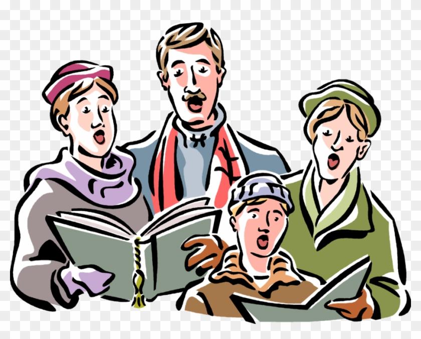 Vector Illustration Of Holiday Festive Season Christmas - Christmas Carol #1172635