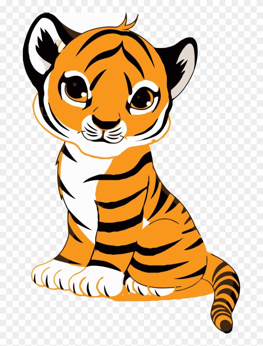 tiger face clip art royalty free tiger illustration cute cartoon rh clipartmax com tiger cub clip art black and white tiger cub clipart black and white