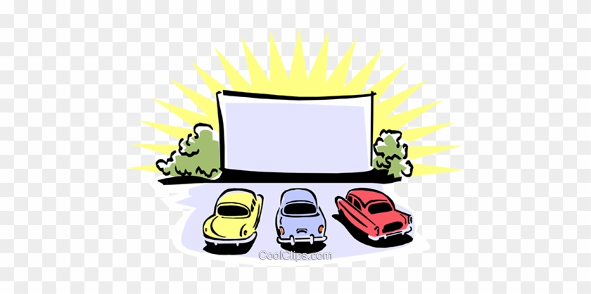 Drive In Movie Theater Clipart 2 By Lacey - Drive In Movie Clip Art #1173870