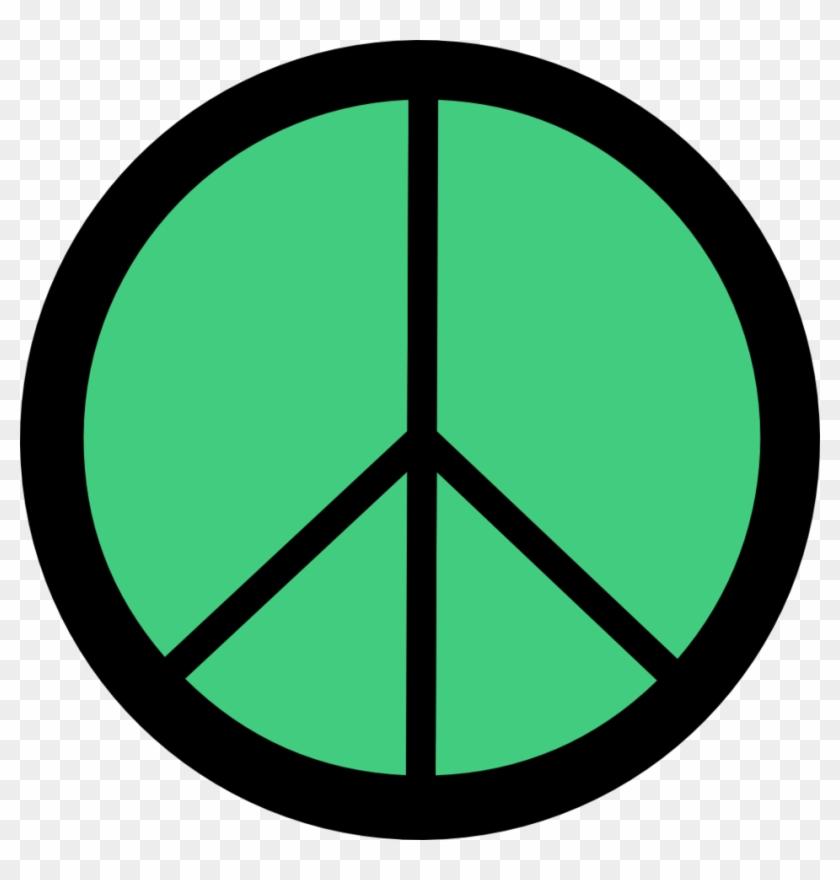 Retro - Make Love Not War Peace Sign #1175073