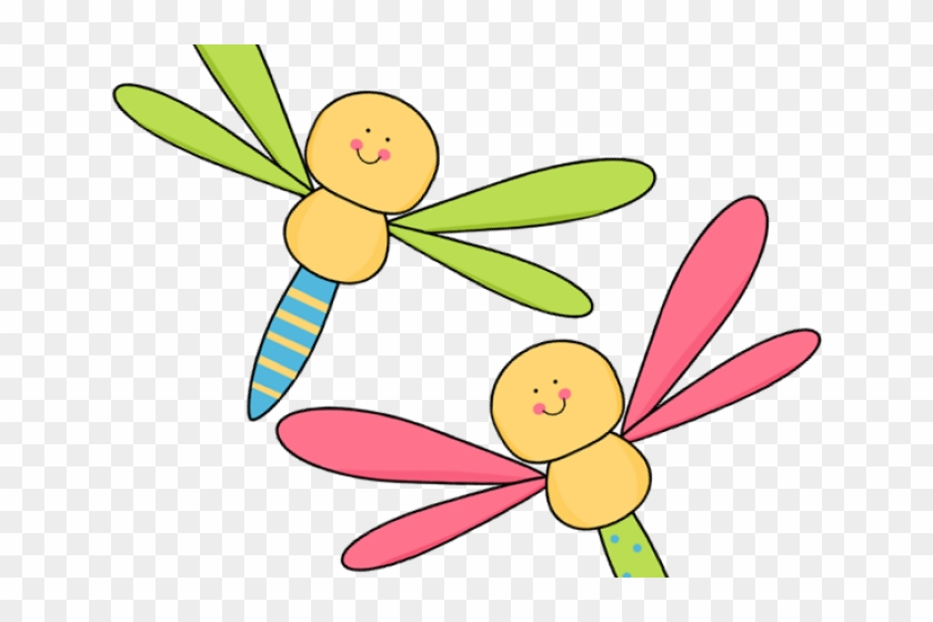 Bugs Flying Cliparts - Clipart Dragonfly #1177007