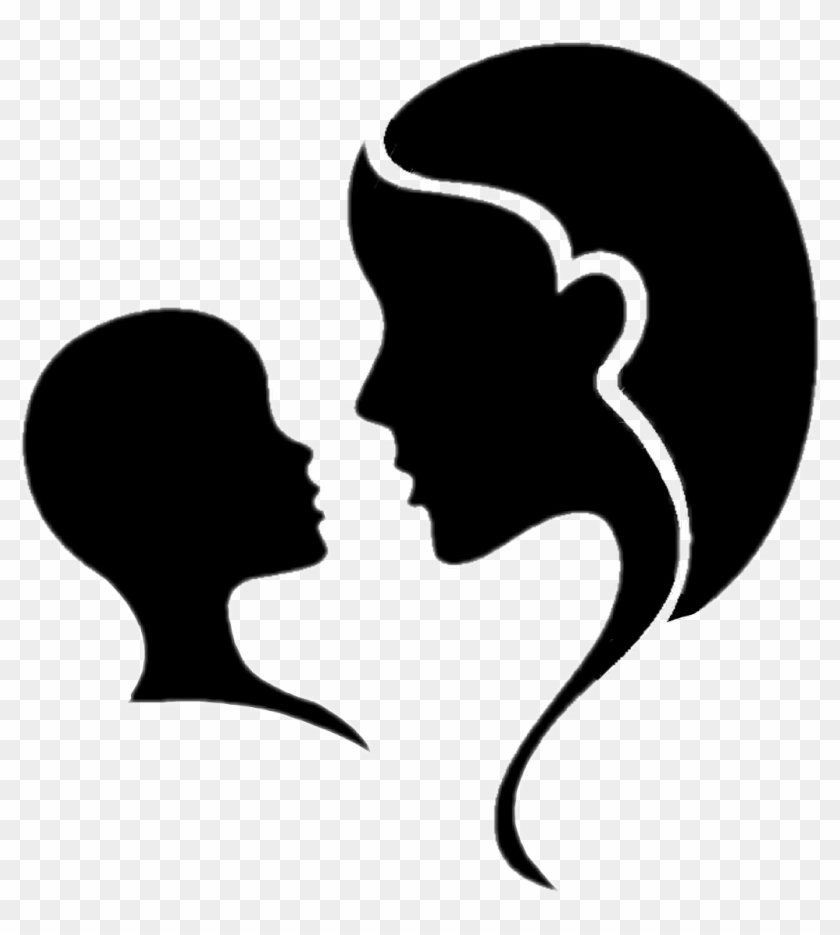 Mothersday Motherandchild Mother Silhouette Maternal - Shopee Indonesia #1177487