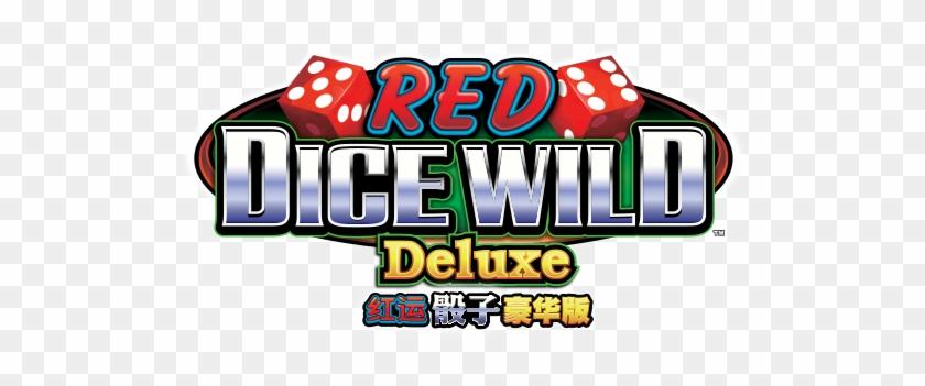 Red Dice Wild Deluxe Logo Mo - Dice #1177784