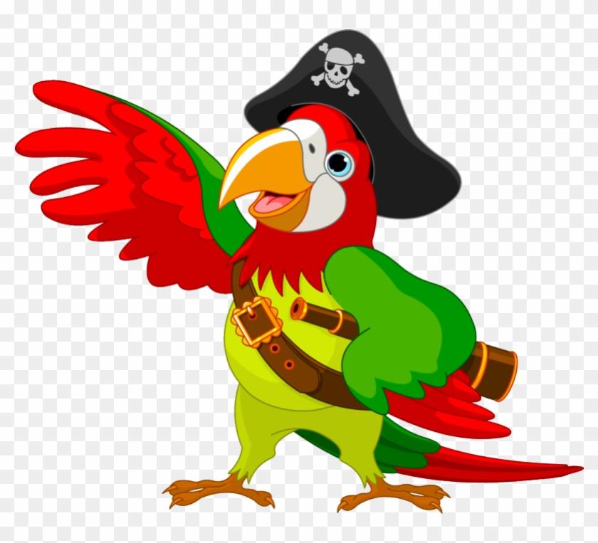 Next - Pirate Parrot Clip Art #1178035