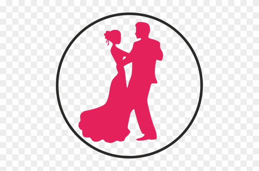 We Have Designed Selected Categories Of Gifting In - Wedding Dancing Couple Silhouette #1178126