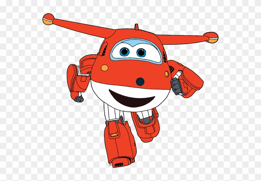 And Clipped By Cartoon Clipart - Jett Super Wings Clipart #1178643